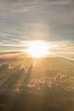 View of sunrise Stock Photo