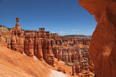 Bryce Canyon 4. View from Sunrise point to catch Amphitheather looking landscape stock photography