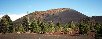 A View of Sunset Crater Royalty Free Stock Photos