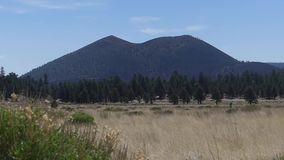 Arizona, Sunset Crater, A view of Sunset Crater with the surrounding landscape