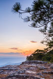 View of sunset Royalty Free Stock Photography