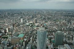 View  from Sunshine 60, Tokyo Stock Images