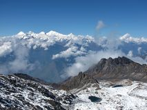 View From Surya Peak Royalty Free Stock Images