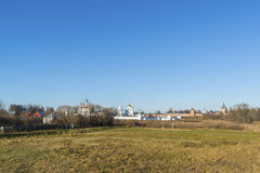 View of Suzdal in  late autumn. Golden Ring  Russia Travel Stock Images