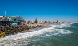 View of Swakopmund, Namibia Royalty Free Stock Photography