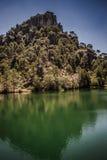 View swamp River Borosa. Swamp River Borosa in Sierra de Cazorla National Park Stock Image