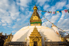 View of Swayambhunath Kathmandu, Nepal Stock Photography