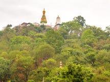 View of Swayambhunath Stupa,Kathmandu Royalty Free Stock Photos