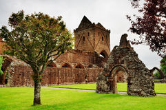 View of Sweetheart Abbey, Dumfries and Galloway Royalty Free Stock Photography