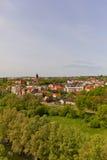 View of Swiecie town, Poland Stock Photos