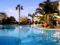 View of a swimming pool Stock Image