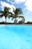 View of swimming pool Royalty Free Stock Photos