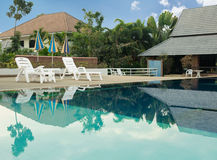 View of swimming pool Stock Photos