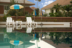 View of swimming pool Stock Photography