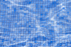 View on swimming pool with tiled floor Stock Photography