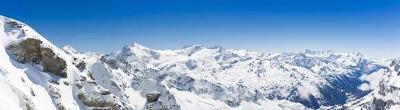View On Switzerland Mountain Landscape Royalty Free Stock Image
