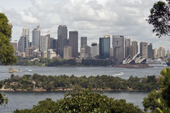 View of Sydney, Australia. View of Sydney Harbour from Taronga Zoo, Australia Royalty Free Stock Photo
