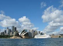 View of Sydney centre in Australia Stock Photography