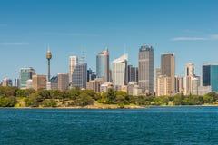 View of Sydney City CBD Skyline - Australia Stock Photos