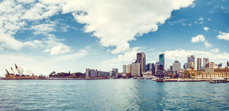 View of Sydney Harbour Royalty Free Stock Images