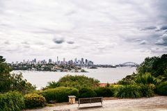 View of Sydney Harbour with opera house Royalty Free Stock Photo