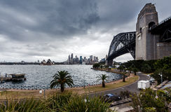 View of Sydney Harbour Royalty Free Stock Photo