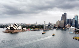 View of Sydney Harbour Stock Image