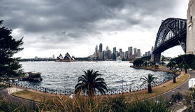 View of Sydney Harbour Stock Photo
