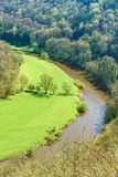 View from Symonds Yat over the Yat Gorge Royalty Free Stock Image