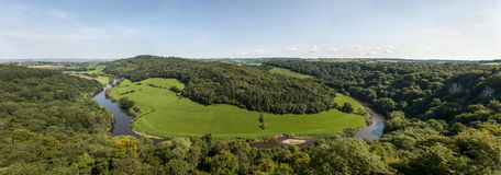 View from Symonds Yat Rock, Herefordshire Royalty Free Stock Image