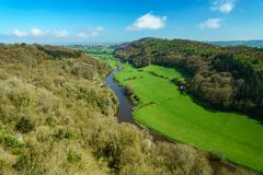 View from Symonds Yat Royalty Free Stock Image