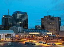 View of syracuse, new york Royalty Free Stock Images
