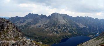 View from Szpiglasowy Wierch peak in Tatras mountains Stock Photography