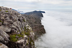 View from table mountain Cape town Stock Photo