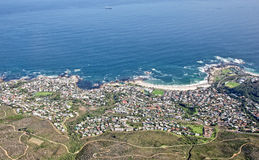 View from Table Mountain, South Africa Royalty Free Stock Photo