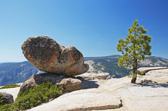 View from Taft point, Yosemite Stock Images