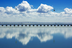 View on Tagus river in Lisbon, Portugal Stock Photography