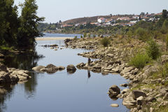 View of Tagus River Royalty Free Stock Photography