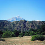 View on Tahtali Dagi mountain. Lycian Way. Aged. Royalty Free Stock Photo