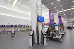 View of Taichung Airport Royalty Free Stock Photography