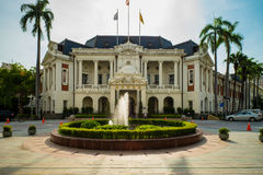 View of taichung city hall Royalty Free Stock Images
