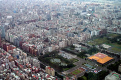 View from Taipei 101 Royalty Free Stock Image