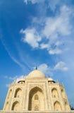 View of Taj Mahal in Agra Royalty Free Stock Photos