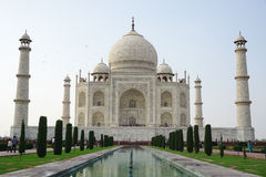 View of the Taj Mahal in Agra, India Stock Photos