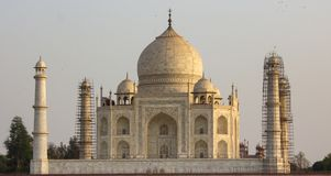 The Taj Mahal royalty free stock image