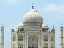 View of the Taj Mahal in Agra, India Royalty Free Stock Images
