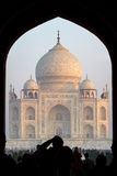 View of Taj Mahal, Agra, India Stock Photos