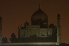View on Taj Mahal Royalty Free Stock Photo