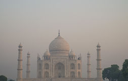 View on Taj Mahal Royalty Free Stock Image