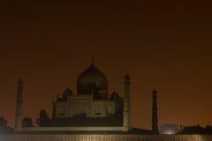 View on Taj Mahal Stock Photography
